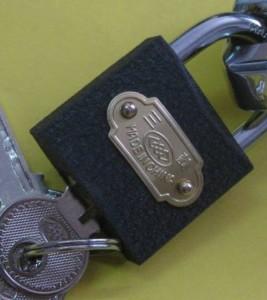застрял ключ в навесном замке