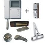Схема подключения магнитного замка и домофона