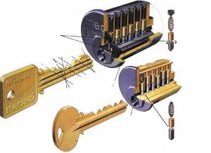 Как изготовить ключ по личинке замка?
