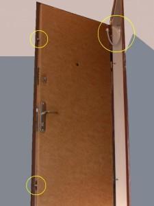 электромеханический замок на дверь