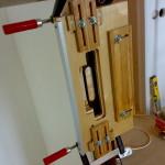 Шаблон для врезки замка и петель - как использовать