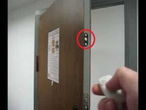 дверной замок с пультом